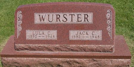 SCHAFFER WURSTER, LULA CAROLYN - Taylor County, Iowa   LULA CAROLYN SCHAFFER WURSTER
