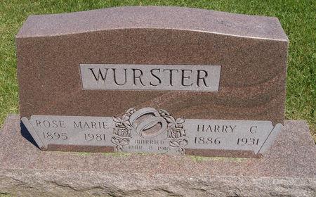 SCHAFFER WURSTER, ROSE MARIE - Taylor County, Iowa | ROSE MARIE SCHAFFER WURSTER