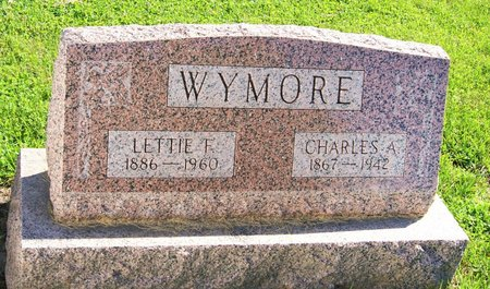 LOGHRY WYMORE, LETTIE FLORELLA - Taylor County, Iowa   LETTIE FLORELLA LOGHRY WYMORE