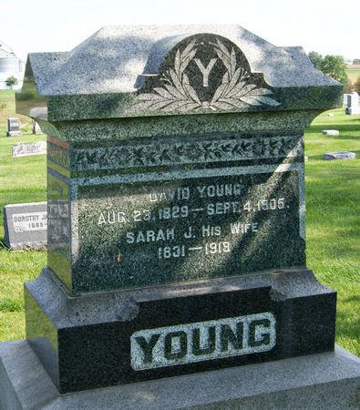 YOUNG, SARAH JANE - Taylor County, Iowa   SARAH JANE YOUNG