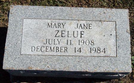 GAULE ZELUF, MARY JANE - Taylor County, Iowa | MARY JANE GAULE ZELUF