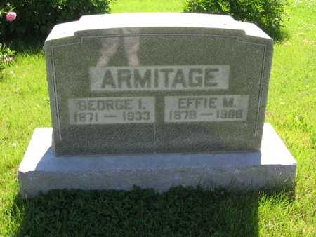 ARMITAGE, GEORGE I. - Union County, Iowa | GEORGE I. ARMITAGE