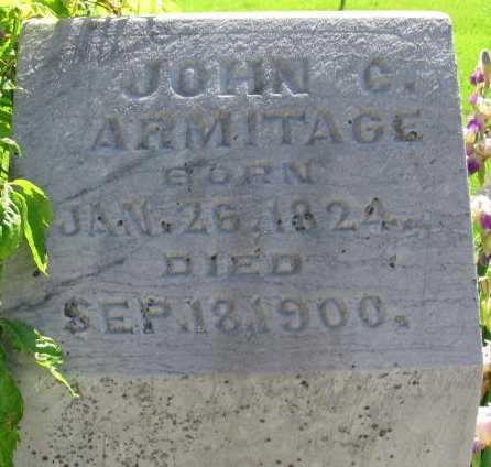 ARMITAGE, JOHN C. - Union County, Iowa | JOHN C. ARMITAGE