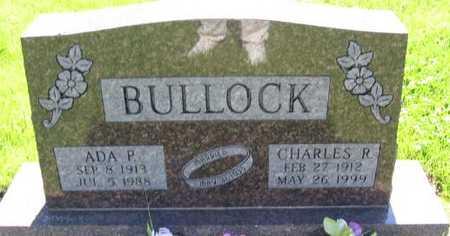 BULLOCK, ADA P. - Union County, Iowa | ADA P. BULLOCK