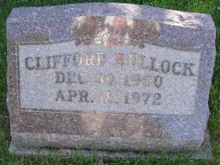 BULLOCK, CLIFFORD - Union County, Iowa   CLIFFORD BULLOCK