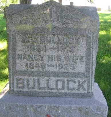 BULLOCK, NANCY - Union County, Iowa   NANCY BULLOCK