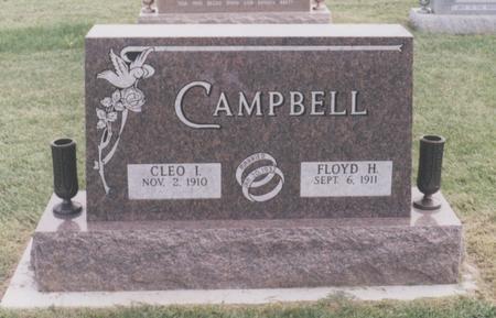 ANTISDEL CAMPBELL, CLEO IRENE - Union County, Iowa | CLEO IRENE ANTISDEL CAMPBELL