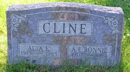 CLINE, ALTA E. - Union County, Iowa | ALTA E. CLINE