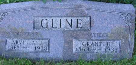 CLINE, ARVILLA J. - Union County, Iowa   ARVILLA J. CLINE