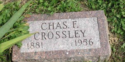 CROSSLEY, CHARLES F. - Union County, Iowa | CHARLES F. CROSSLEY