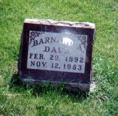 DAUN, BARNARD A. - Union County, Iowa | BARNARD A. DAUN