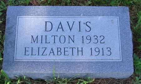 DAVIS, ELIZABETH - Union County, Iowa   ELIZABETH DAVIS