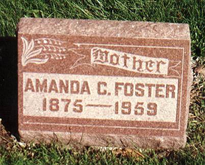 FOSTER, AMANDA - Union County, Iowa | AMANDA FOSTER