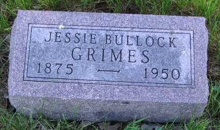 BULLOCK GRIMES, JESSIE - Union County, Iowa | JESSIE BULLOCK GRIMES