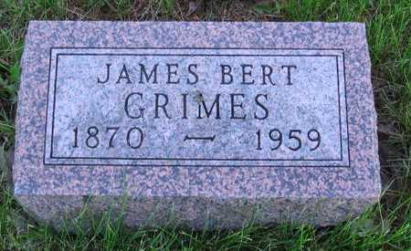 GRIMES, JAMES BERT - Union County, Iowa | JAMES BERT GRIMES