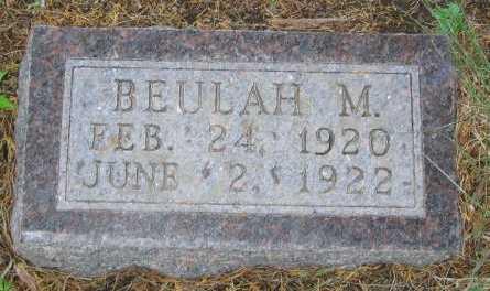 HENDERSON, BEULAH - Union County, Iowa   BEULAH HENDERSON