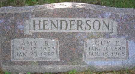 HENDERSON, GUY E. - Union County, Iowa | GUY E. HENDERSON