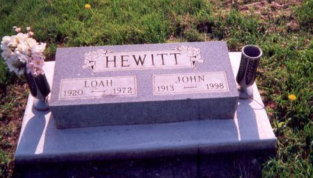 HEWITT, JOHN - Union County, Iowa | JOHN HEWITT