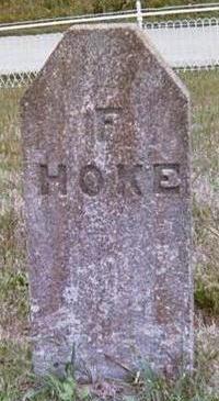 HOKE, FRED - Union County, Iowa   FRED HOKE