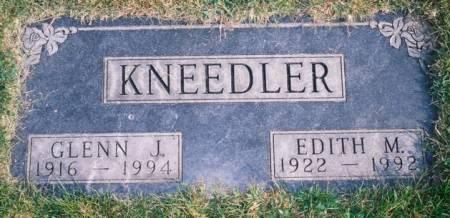KNEEDLER, GLENN J. - Union County, Iowa | GLENN J. KNEEDLER