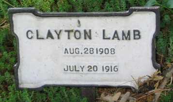 LAMB, CLAYTON - Union County, Iowa | CLAYTON LAMB
