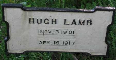 LAMB, HUGH - Union County, Iowa   HUGH LAMB
