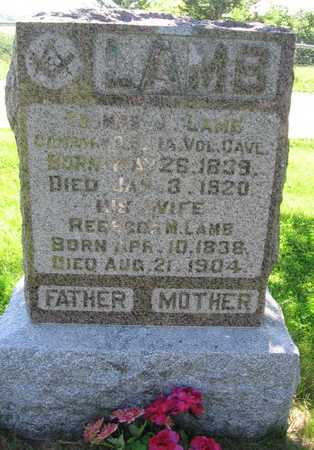 LAMB, THOMAS J. - Union County, Iowa | THOMAS J. LAMB