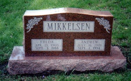 MIKKELSEN, FREDA - Union County, Iowa | FREDA MIKKELSEN