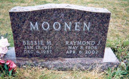 MOONEN, BESSIE - Union County, Iowa | BESSIE MOONEN