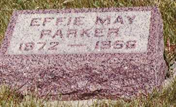 PARKER, EFFIE MAY - Union County, Iowa | EFFIE MAY PARKER