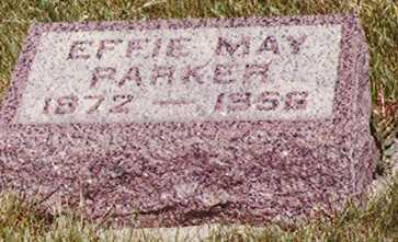 HARTMAN PARKER, EFFIE MAY - Union County, Iowa   EFFIE MAY HARTMAN PARKER