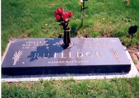 RUTLEDGE, DONALD - Union County, Iowa | DONALD RUTLEDGE