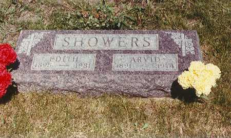 SHOWERS, ARVID ALLIE - Union County, Iowa   ARVID ALLIE SHOWERS
