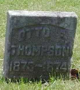 THOMPSON, OTTO E. - Union County, Iowa | OTTO E. THOMPSON