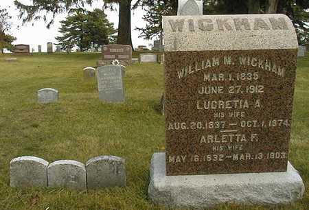 WICKHAM, WILLIAM M. - Union County, Iowa | WILLIAM M. WICKHAM