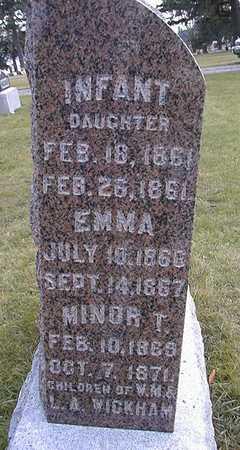 WICKHAM, EMMA - Union County, Iowa | EMMA WICKHAM