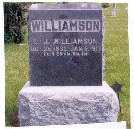 WILLIAMSON, LEWIS JACKSON - Union County, Iowa | LEWIS JACKSON WILLIAMSON