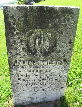 WILSON, JOHN - Union County, Iowa | JOHN WILSON