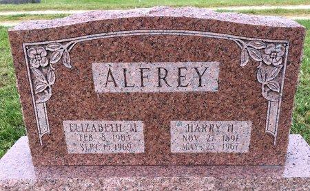 ALFREY, ELIZABETH M - Van Buren County, Iowa | ELIZABETH M ALFREY