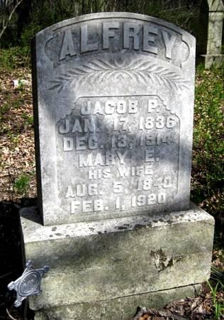 ALFREY, JACOB P. - Van Buren County, Iowa   JACOB P. ALFREY