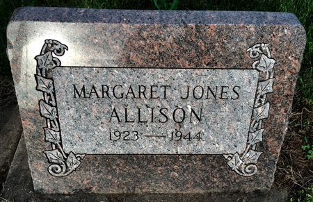 JONES ALLISON, MARGARET - Van Buren County, Iowa | MARGARET JONES ALLISON