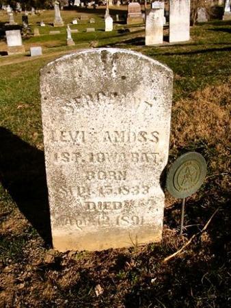 AMOSS, LEVI - Van Buren County, Iowa | LEVI AMOSS