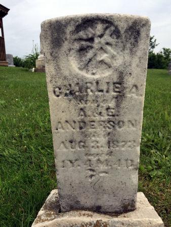 ANDERSON, CHARLIE A. - Van Buren County, Iowa | CHARLIE A. ANDERSON