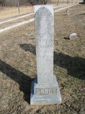 ANSON, HESTER - Van Buren County, Iowa | HESTER ANSON