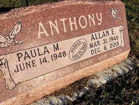 ANTHONY, ALLAN E - Van Buren County, Iowa | ALLAN E ANTHONY