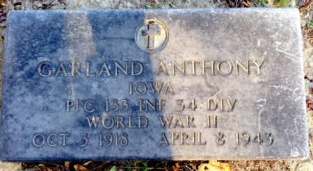 ANTHONY, GARLAND - Van Buren County, Iowa | GARLAND ANTHONY