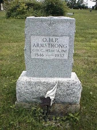 ARMSTRONG, O.H.P. - Van Buren County, Iowa | O.H.P. ARMSTRONG
