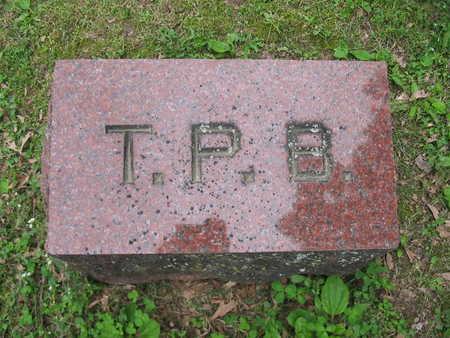 BAKER, T.P. - Van Buren County, Iowa | T.P. BAKER