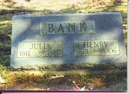 BANK, HENRY - Van Buren County, Iowa | HENRY BANK