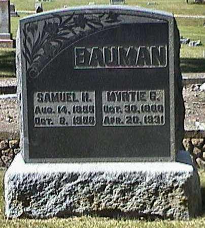 BAUMAN, SAMUEL - Van Buren County, Iowa | SAMUEL BAUMAN
